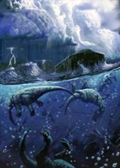 Drowned dinosaurs pic